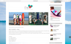 Retreat, Bali, SurfGirl, Salti Hearts, Surf, Yoga, Camps