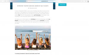 Press, Salti Hearts, Bali, Surf, Yoga, rETREAT