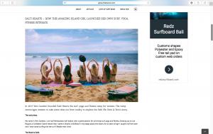 Press, Salti Hearts, Surf, Bali, Surf Retreat, Yoga, Holiday