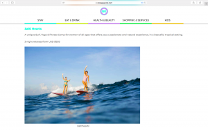 Retreat, Yoga, Surf, Bali. Press, Holiday, Salti Hearts, Canggu