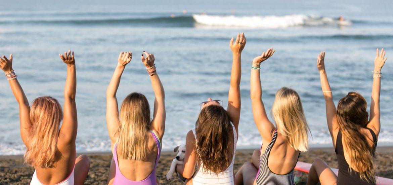 Salti Hearts, Bali, sisterhood, holiday, retreat, Yoga, surf